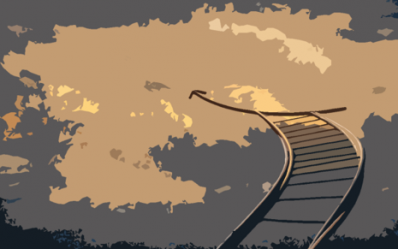 Staircase to heaven sketch